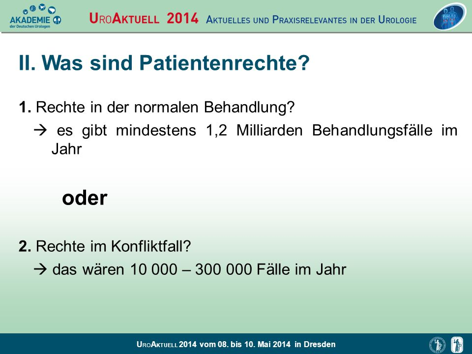II. Was sind Patientenrechte