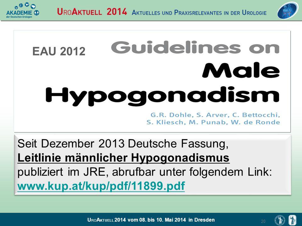 Seit Dezember 2013 Deutsche Fassung,