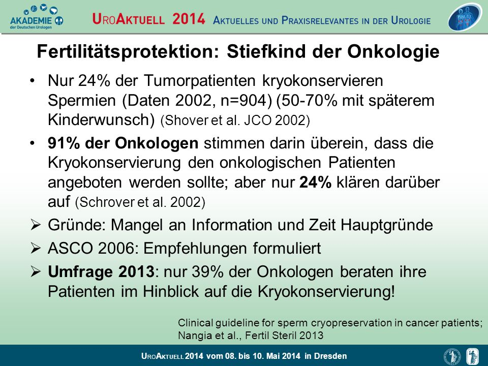 Fertilitätsprotektion: Stiefkind der Onkologie