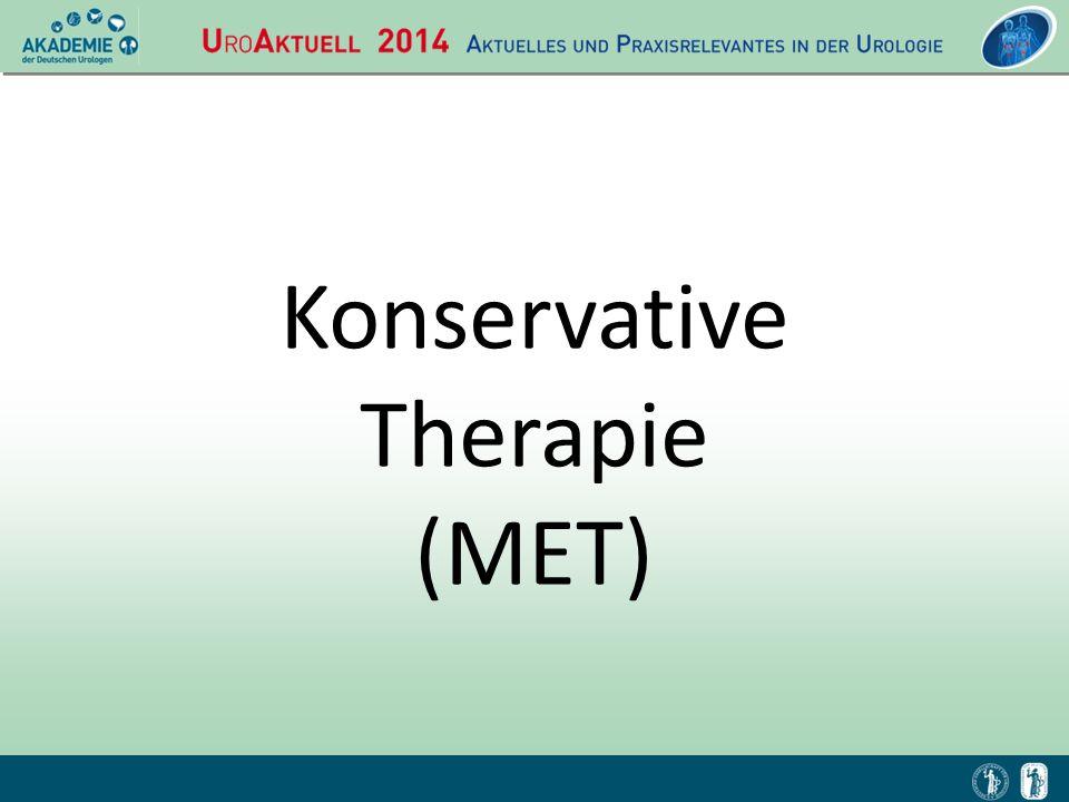 Konservative Therapie (MET)