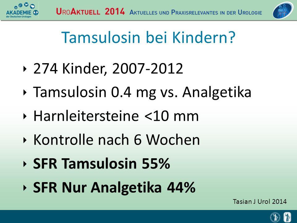 Tamsulosin bei Kindern