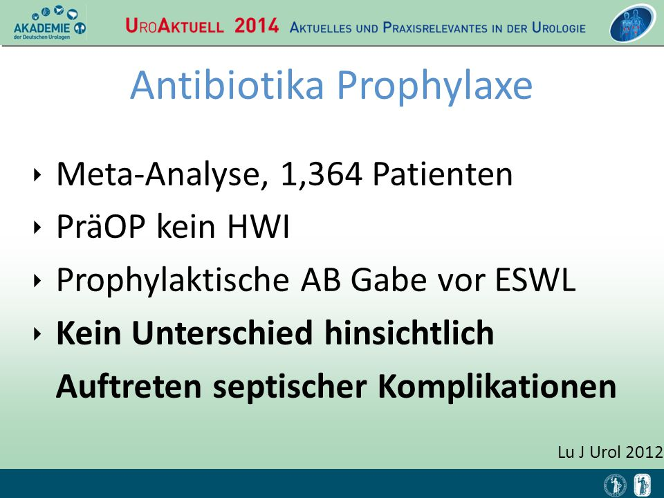 Antibiotika Prophylaxe