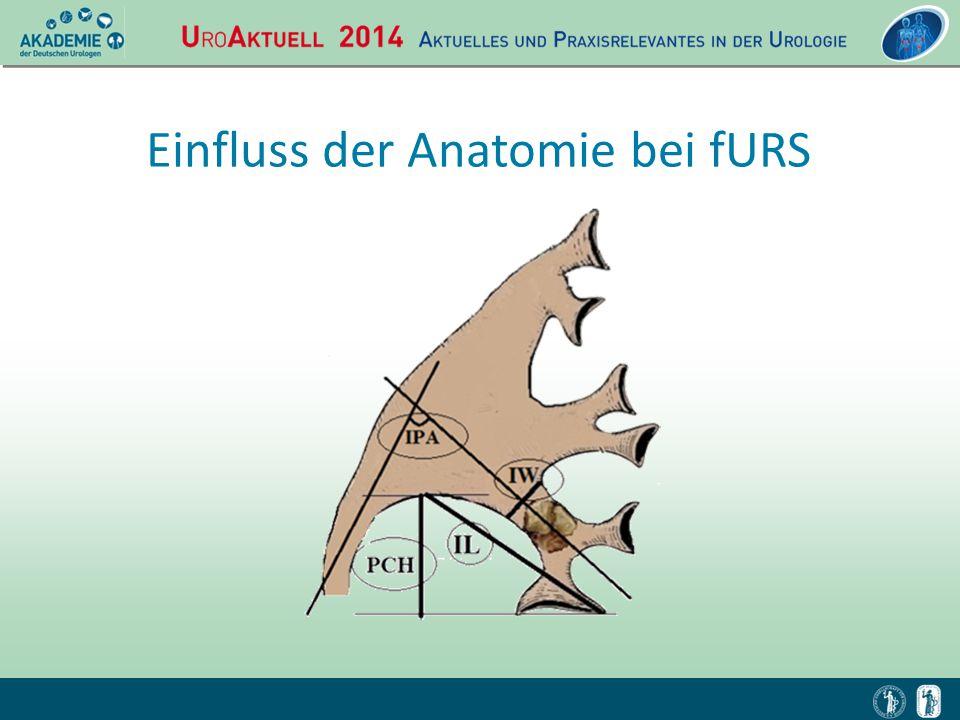 Einfluss der Anatomie bei fURS