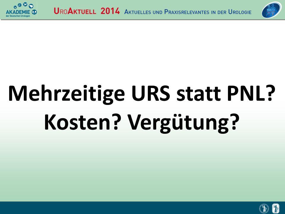 Mehrzeitige URS statt PNL