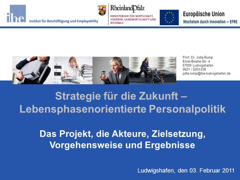 Strategie für die Zukunft – Lebensphasenorientierte Personalpolitik