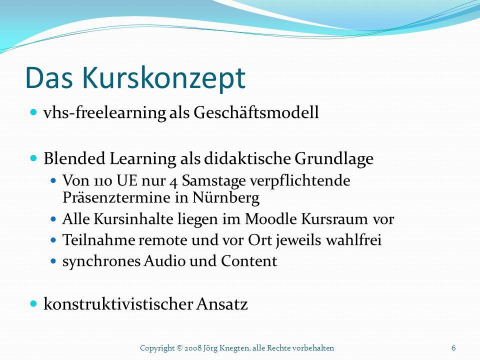 Das Kurskonzept vhs-freelearning als Geschäftsmodell