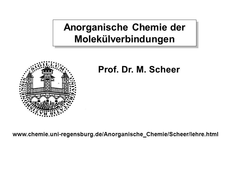 Anorganische Chemie der Molekülverbindungen