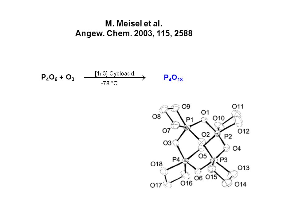 M. Meisel et al. Angew. Chem. 2003, 115, 2588