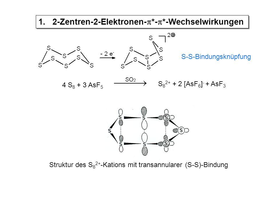 1. 2-Zentren-2-Elektronen-*-*-Wechselwirkungen