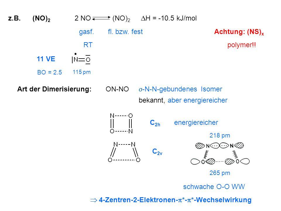 Art der Dimerisierung: ON-NO -N-N-gebundenes Isomer