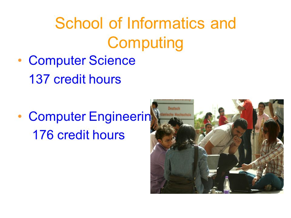 School of Informatics and Computing