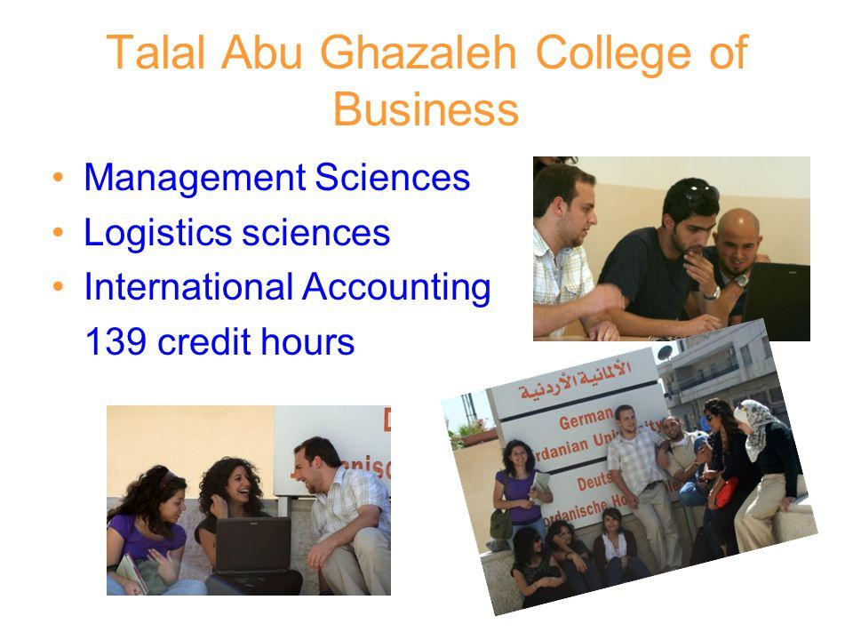 Talal Abu Ghazaleh College of Business