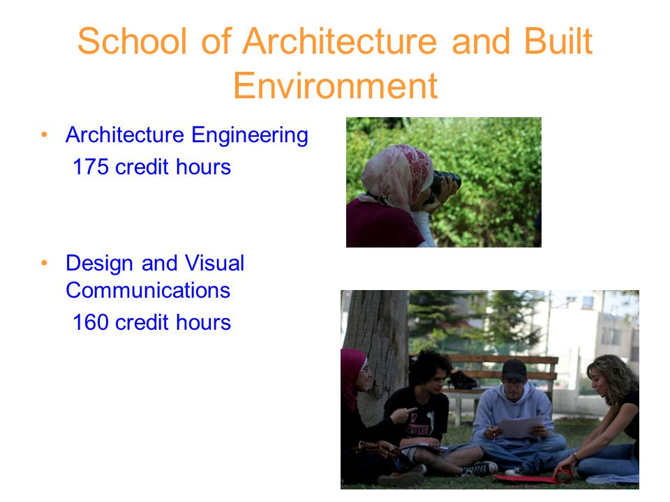 School of Architecture and Built Environment