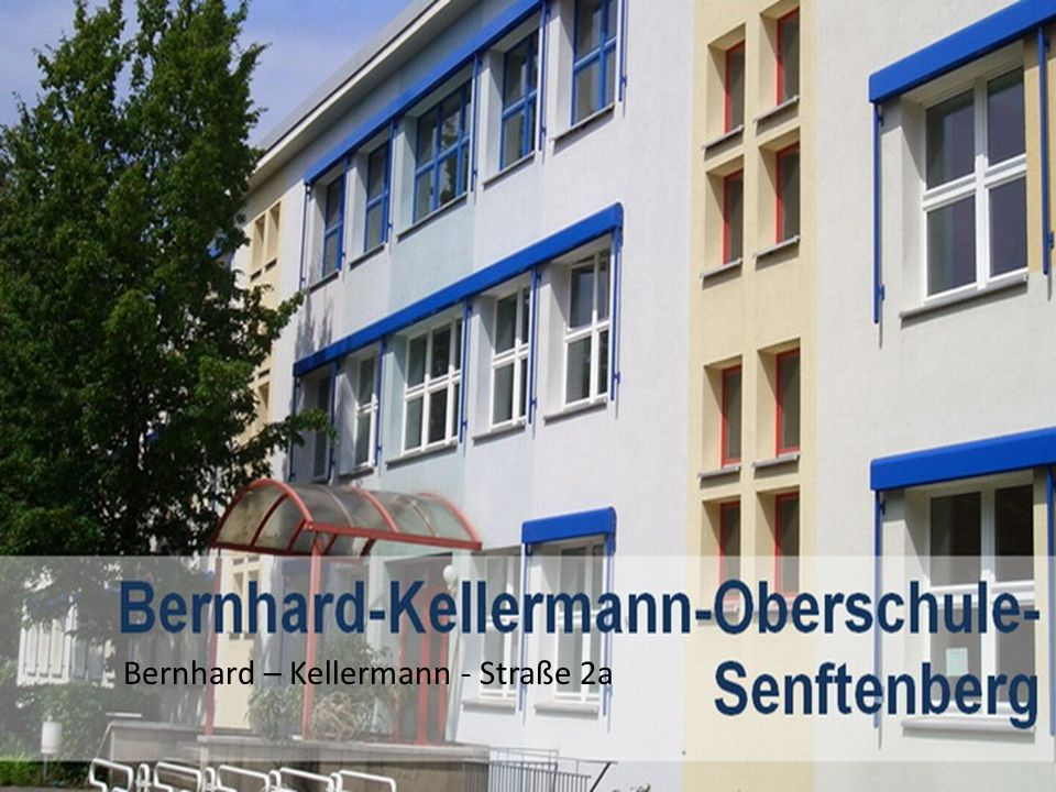 Bernhard – Kellermann - Straße 2a