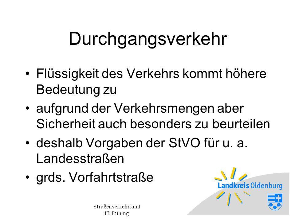 Straßenverkehrsamt H. Lüning