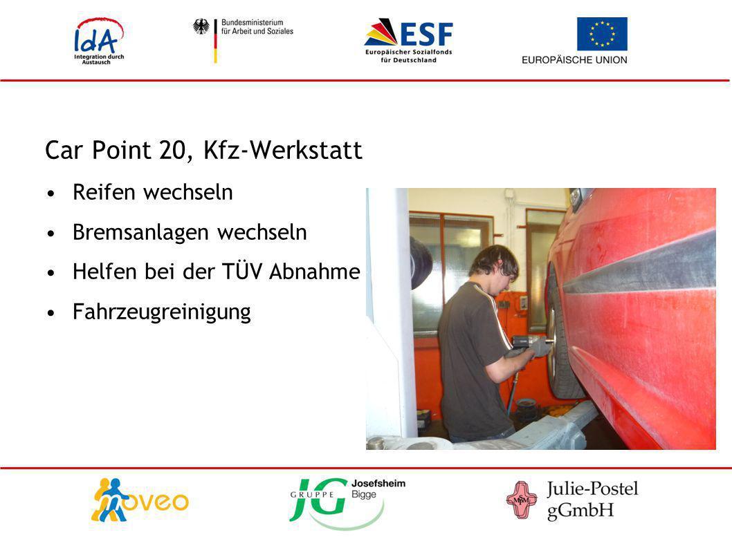 Car Point 20, Kfz-Werkstatt