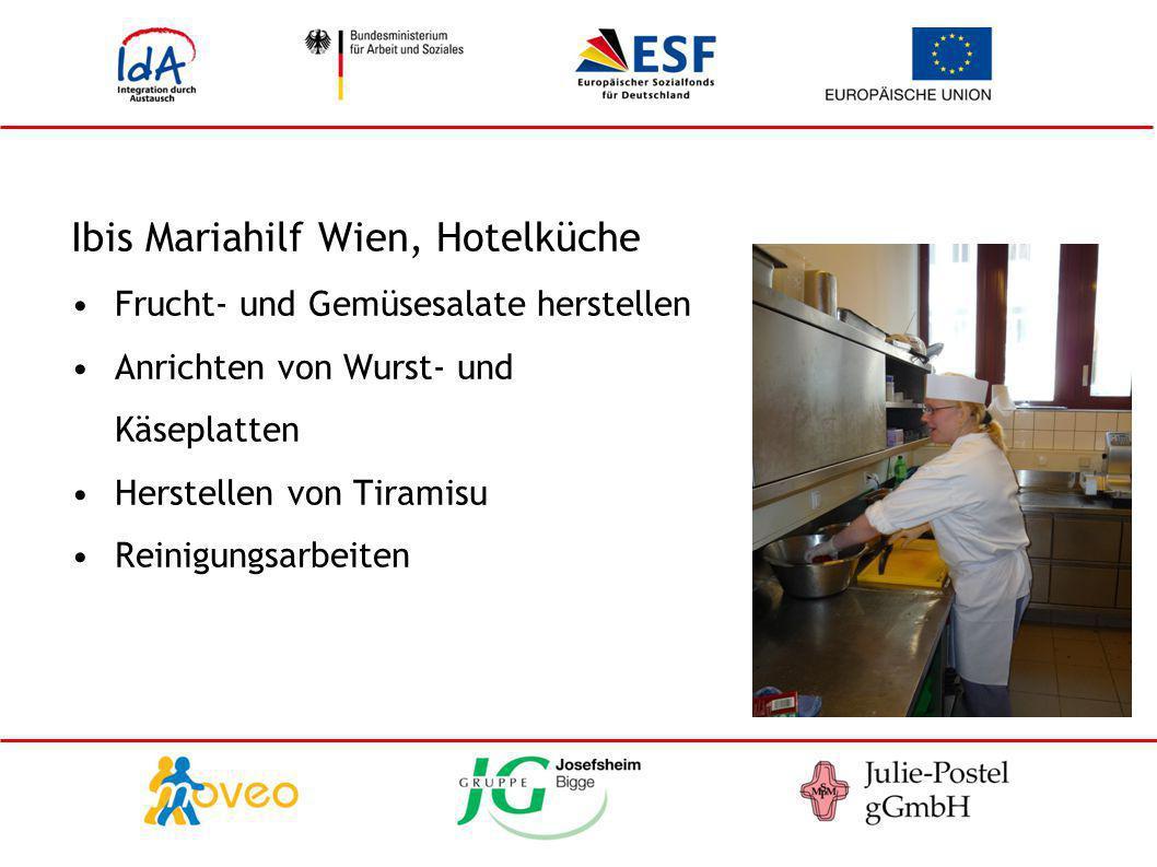 Ibis Mariahilf Wien, Hotelküche