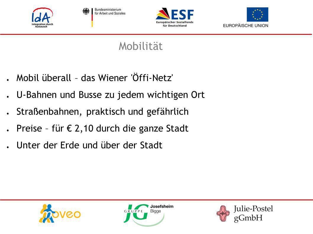 Mobilität Mobil überall – das Wiener Öffi-Netz