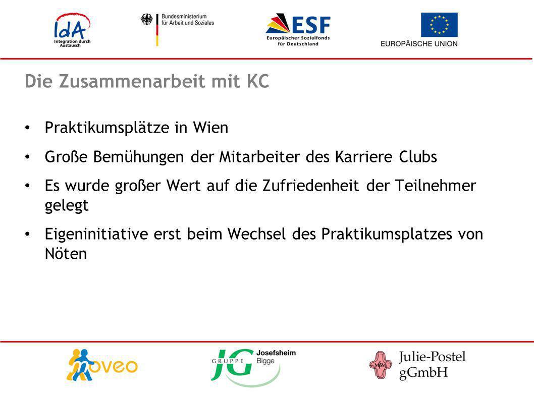 Die Zusammenarbeit mit KC
