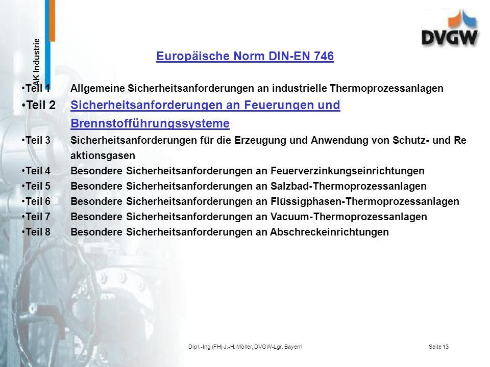 Europäische Norm DIN-EN 746