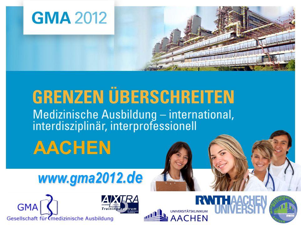 AACHEN www.gma2012.de