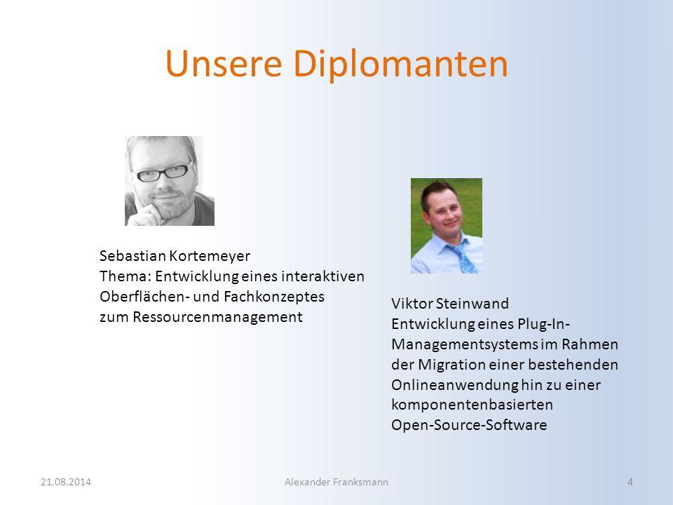 Unsere Diplomanten Sebastian Kortemeyer