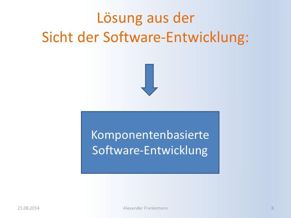 Lösung aus der Sicht der Software-Entwicklung: