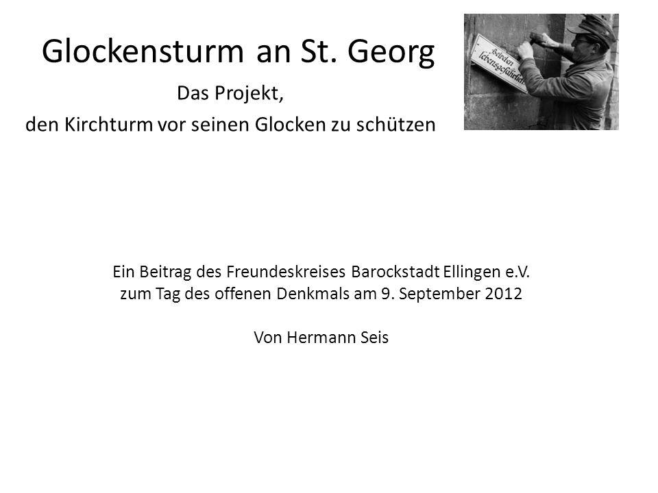 Glockensturm an St. Georg
