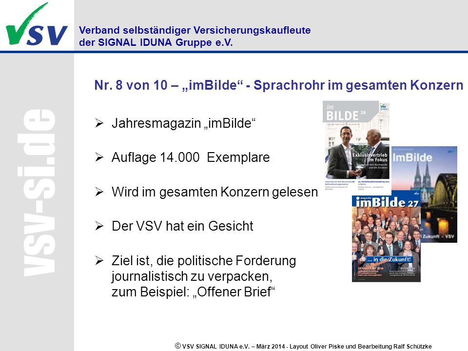 """Nr. 8 von 10 – """"imBilde - Sprachrohr im gesamten Konzern"""