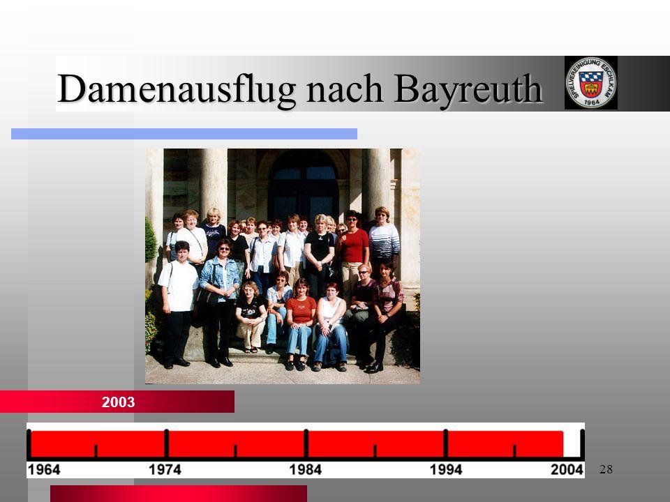Damenausflug nach Bayreuth