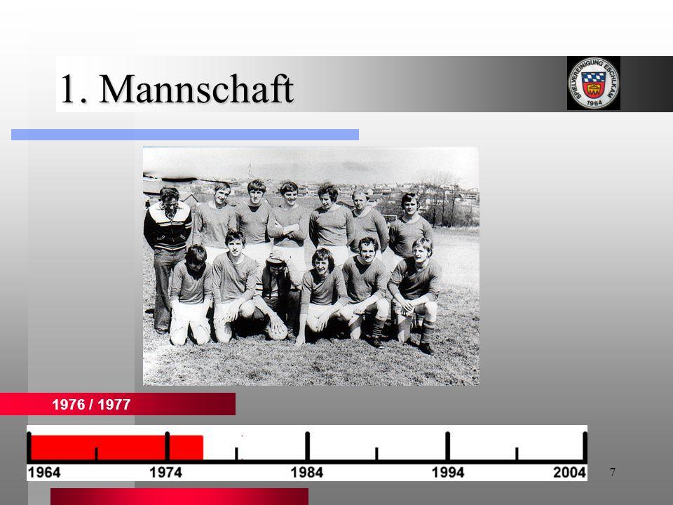 1. Mannschaft 1976 / 1977