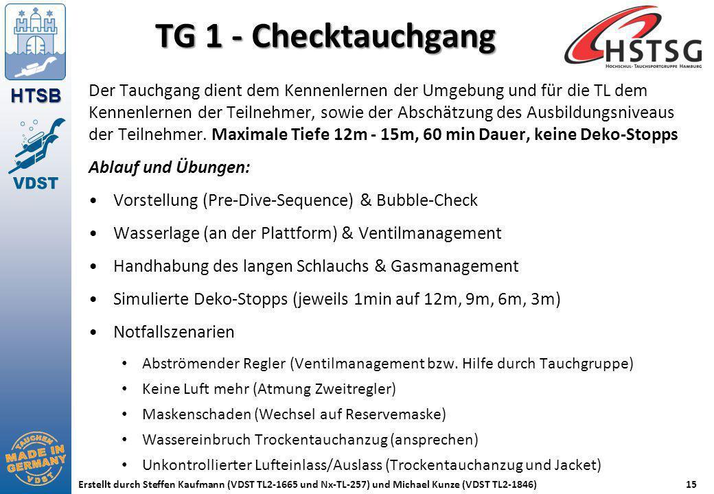 TG 1 - Checktauchgang