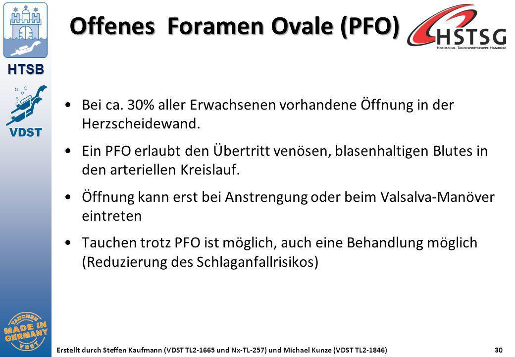 Offenes Foramen Ovale (PFO)
