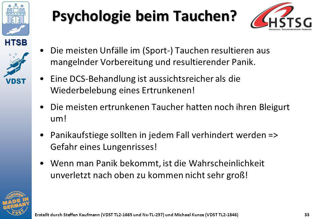 Psychologie beim Tauchen