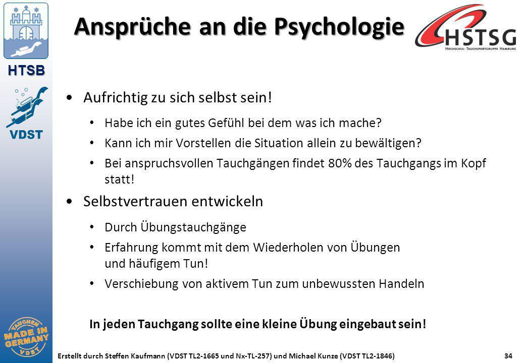 Ansprüche an die Psychologie