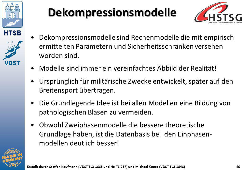 Dekompressionsmodelle