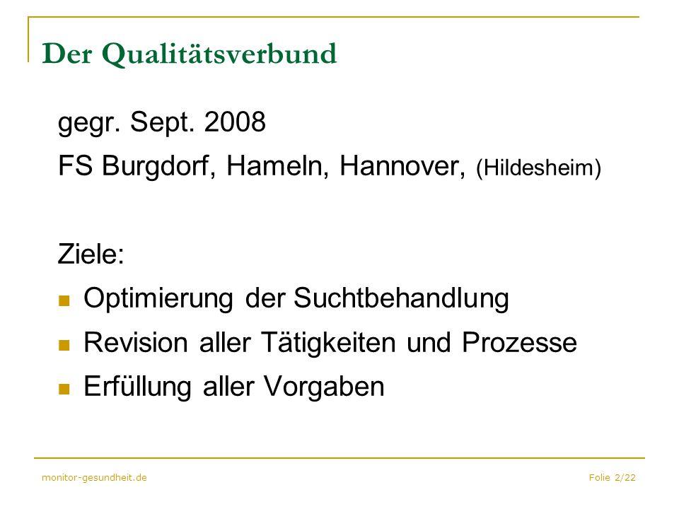 Der Qualitätsverbund gegr. Sept. 2008