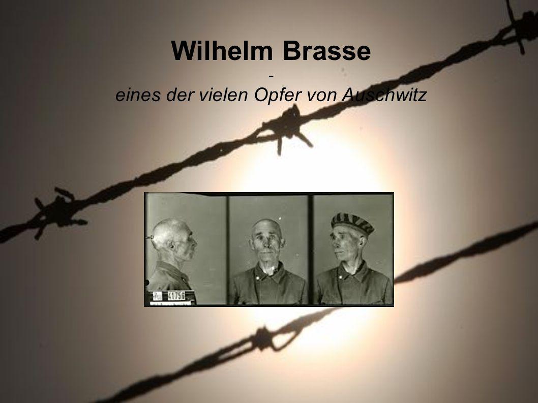 eines der vielen Opfer von Auschwitz