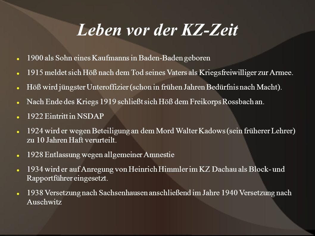Leben vor der KZ-Zeit 1900 als Sohn eines Kaufmanns in Baden-Baden geboren.