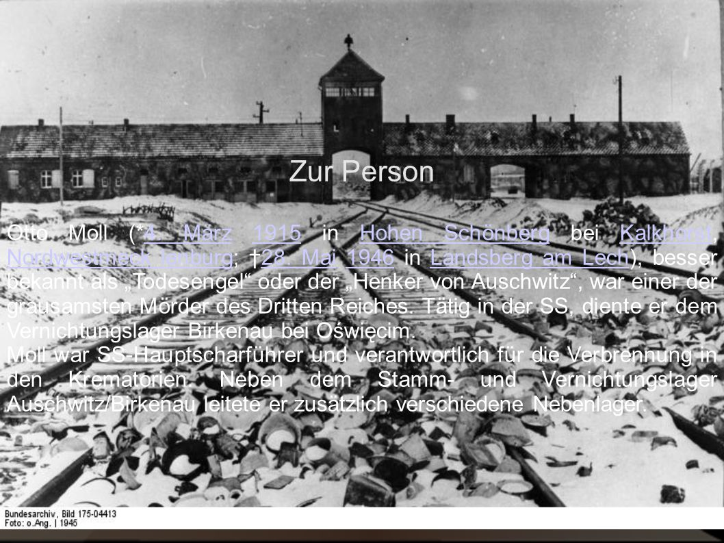 Zur Person