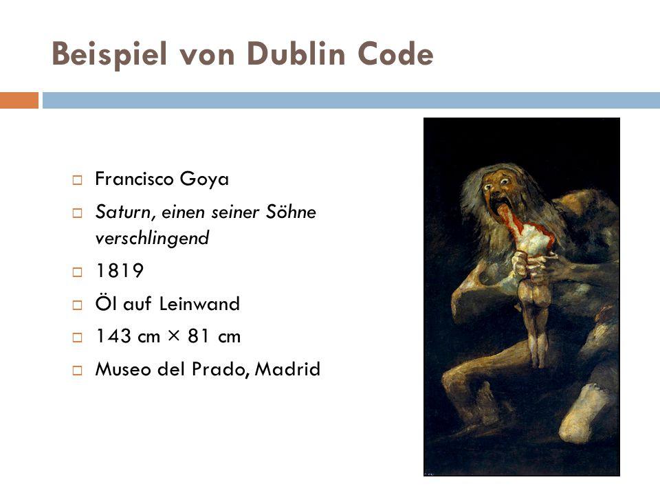 Beispiel von Dublin Code