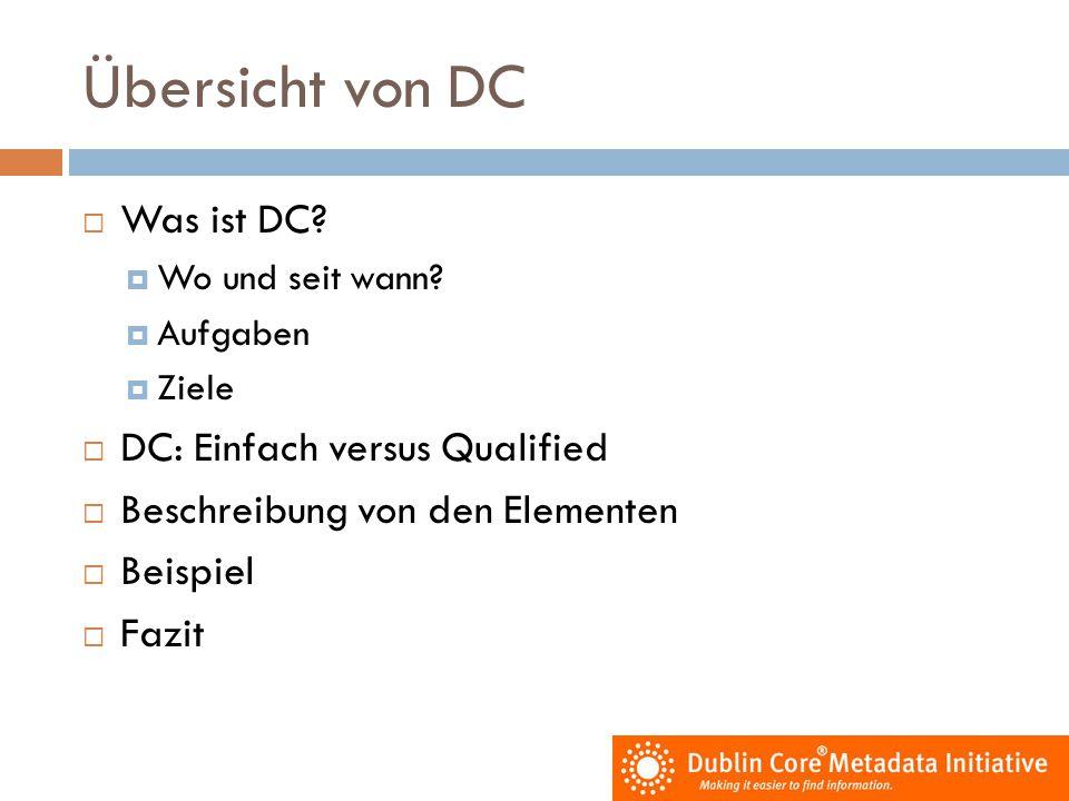 Übersicht von DC Was ist DC DC: Einfach versus Qualified