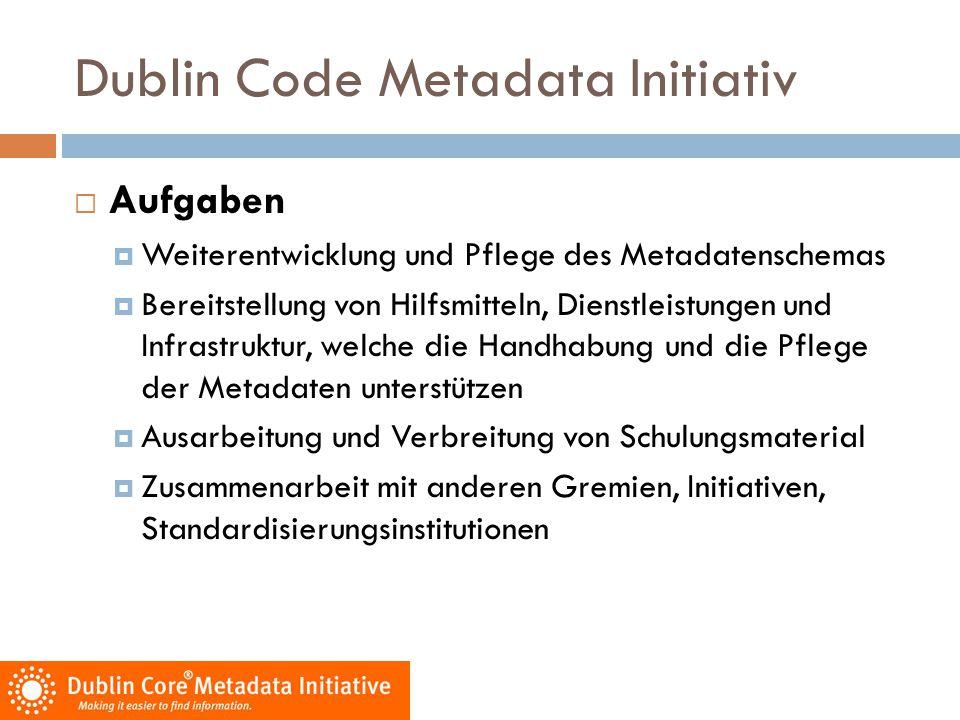 Dublin Code Metadata Initiativ