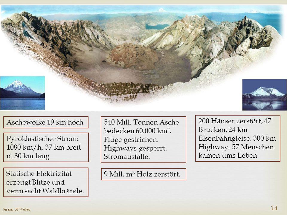 540 Mill. Tonnen Asche bedecken 60.000 km2.