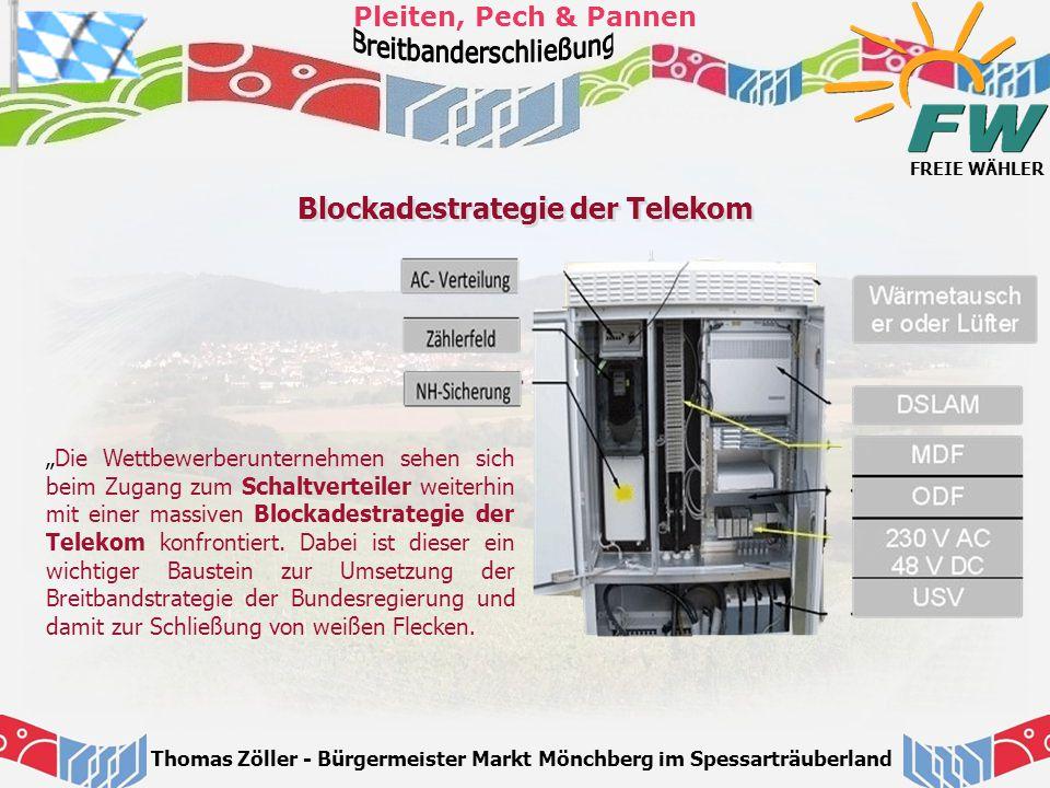 Blockadestrategie der Telekom