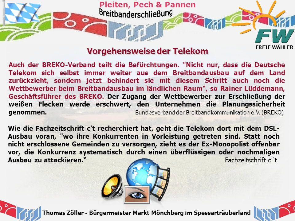 Vorgehensweise der Telekom