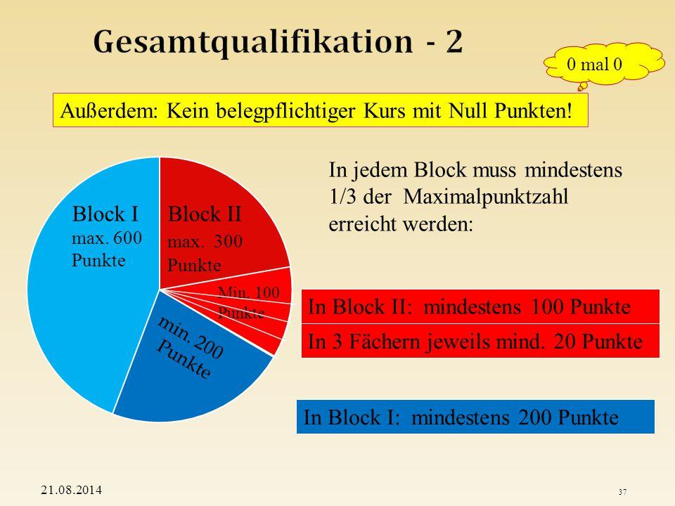 Gesamtqualifikation - 2