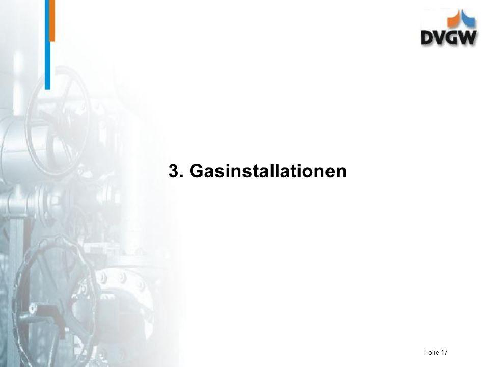 3. Gasinstallationen