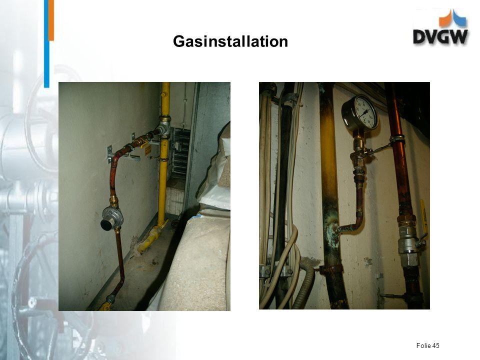 Gasinstallation