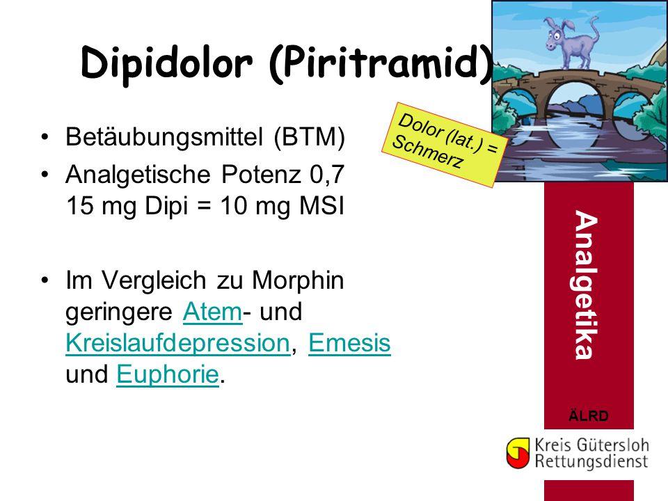 Dipidolor (Piritramid)